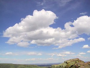 Cumulus of fair weather
