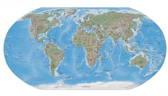 Physical map of the Earth (Medium) (Large 2 MB)